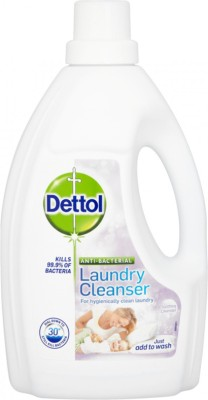 Dettol Anti-Bacterial Laundry Cleanser 1.5L Liquid Detergent