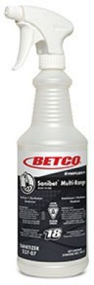 Betco Sanibet Muti-Range Liquid Detergent