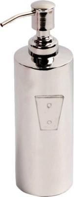 Yasha Lifestyle WALL MOUNTING LIQUID SOAP DISPENSER ROUND ROYAL DESGINE 500 ml Gel, Lotion, Foam, Conditioner, Shampoo Dispenser(Steel)