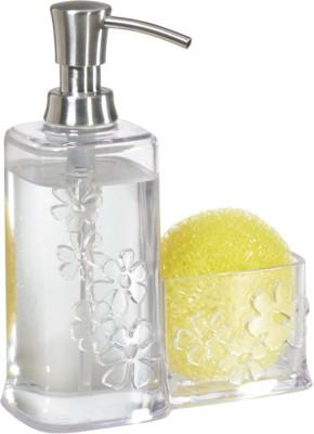 Interdesign Blumz Soap/Scrubby Caddy Clear 354 ml Soap Dispenser