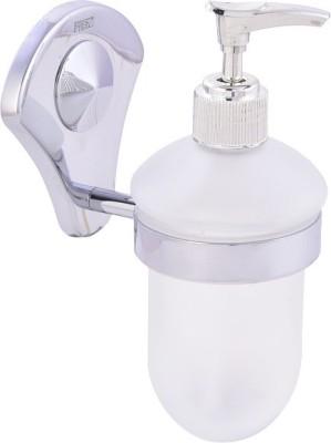FAB EL Liquid Soap Holder or Dispenser 0.3 L Shampoo Dispenser(Silver)