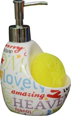 Royal Beei Scribble White 300 ml Shampoo, Conditioner, Lotion, Soap Dispenser