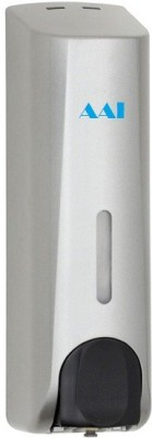 AAI Xylo slim silver crome pvc 350 ml Shampoo, Lotion, Gel, Conditioner & soap dispenser 350 ml Soap, Shampoo, Lotion, Gel, Conditioner Dispenser