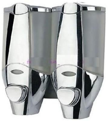 Alfa Mart 350 ml Sensor Equiped Shampoo Dispenser(Silver Pack of 2)