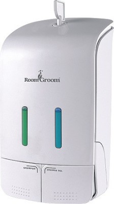Room Groom 2150_W 1100 ml Conditioner, Gel, Lotion, Shampoo, Soap Dispenser