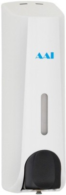 AAI Xylo slim white pvc 350 ml Shampoo, Lotion, Gel, Conditioner & soap dispenser 350 ml Soap, Shampoo, Lotion, Gel, Conditioner Dispenser