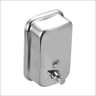 Kamal Stainless Steel Soap Dispenser - Sleek 400 ml Soap Dispenser(Silver)