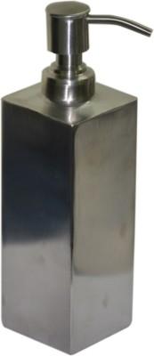 Sens Square Matte Finish Stainless Steel 500 ml Soap Dispenser(Silver)