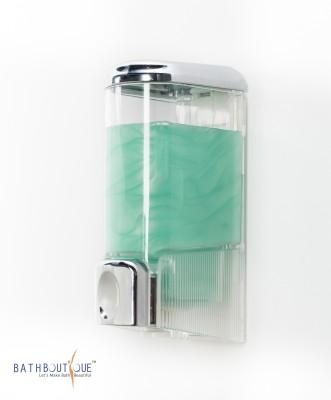 Bath boutique Cute 200 ml Soap, Shampoo, Conditioner, Lotion Dispenser(Silver)