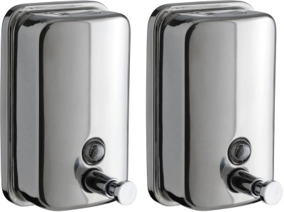 Dolphy Set of Two Liquid 1000 ml Soap, Lotion, Conditioner, Shampoo Dispenser