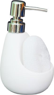 Royal Beei White Rubber 300 ml Shampoo, Conditioner, Lotion, Soap Dispenser