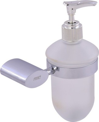 FAB DR Liquid Soap Holder or Dispenser 0.3 L Shampoo Dispenser(Silver)