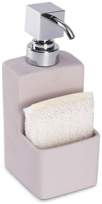 Mom Italy Kitchen Dispenser With Advanced Rubber Coating Bonus- Cleaning Sponge 500 ml Soap Dispenser