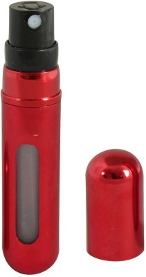 Mog Refillable Mini Perfume Spray 5 ml Lotion Dispenser(Red)