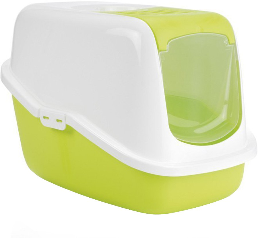 View Savic Litter Enclosure(Lemon Green) Furniture (Savic)