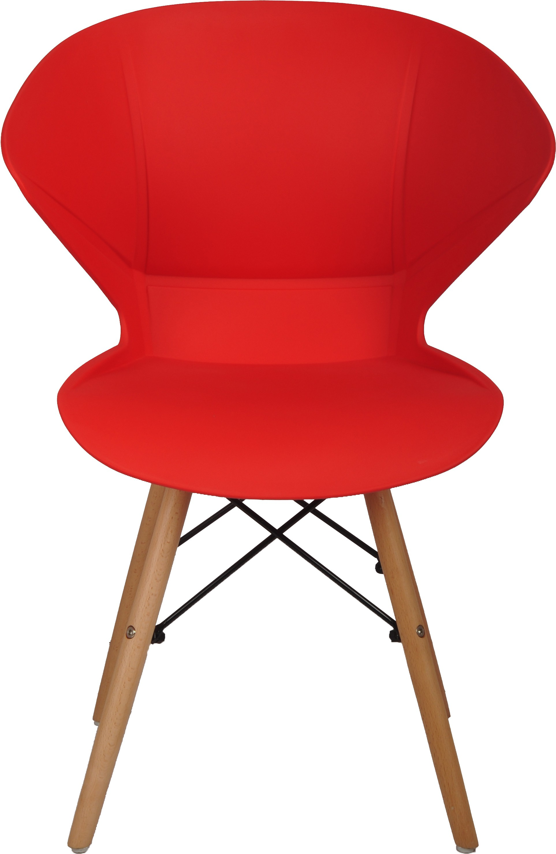 View Bharat Furniture Frog Plastic Living Room Chair(Finish Color - Red) Furniture (Bharat Furniture)