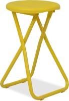 Durian Xinji Metal Living Room Chair(Finish Color - Yellow)
