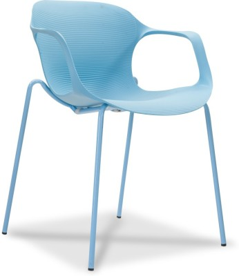 Durian ZANE-BLUE Synthetic Fiber Living Room Chair