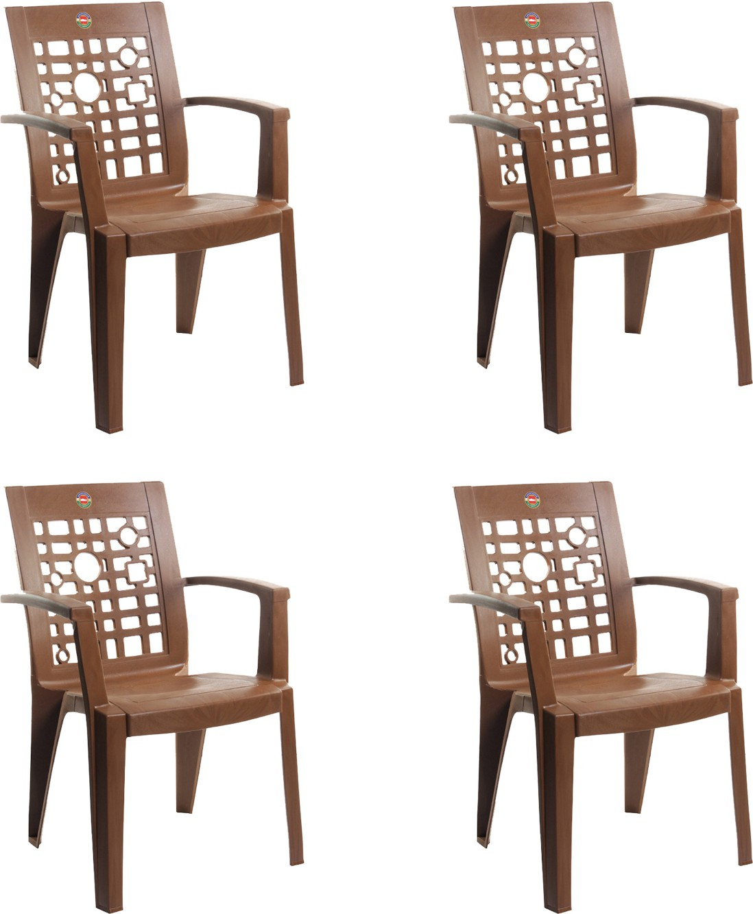View Cello Furniture Plastic Living Room Chair(Finish Color - Sandalwood Brown) Furniture (Cello Furniture)