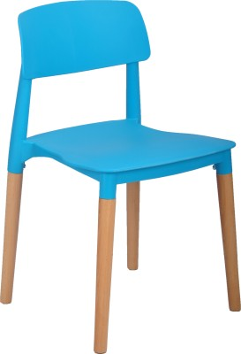 Bharat Furniture Click Plastic Living Room Chair(Finish Color - Blue)