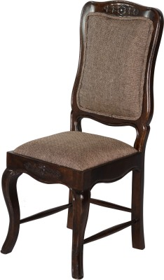 HomeEdge Solid Wood Living Room Chair(Finish Color - WALNUT)