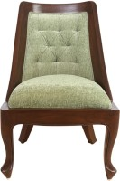 ExclusiveLane Solid Wood Living Room Chair(Finish Color - Walnut Brown)