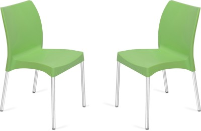 Nilkamal Plastic Living Room Chair(Finish Color - Green)