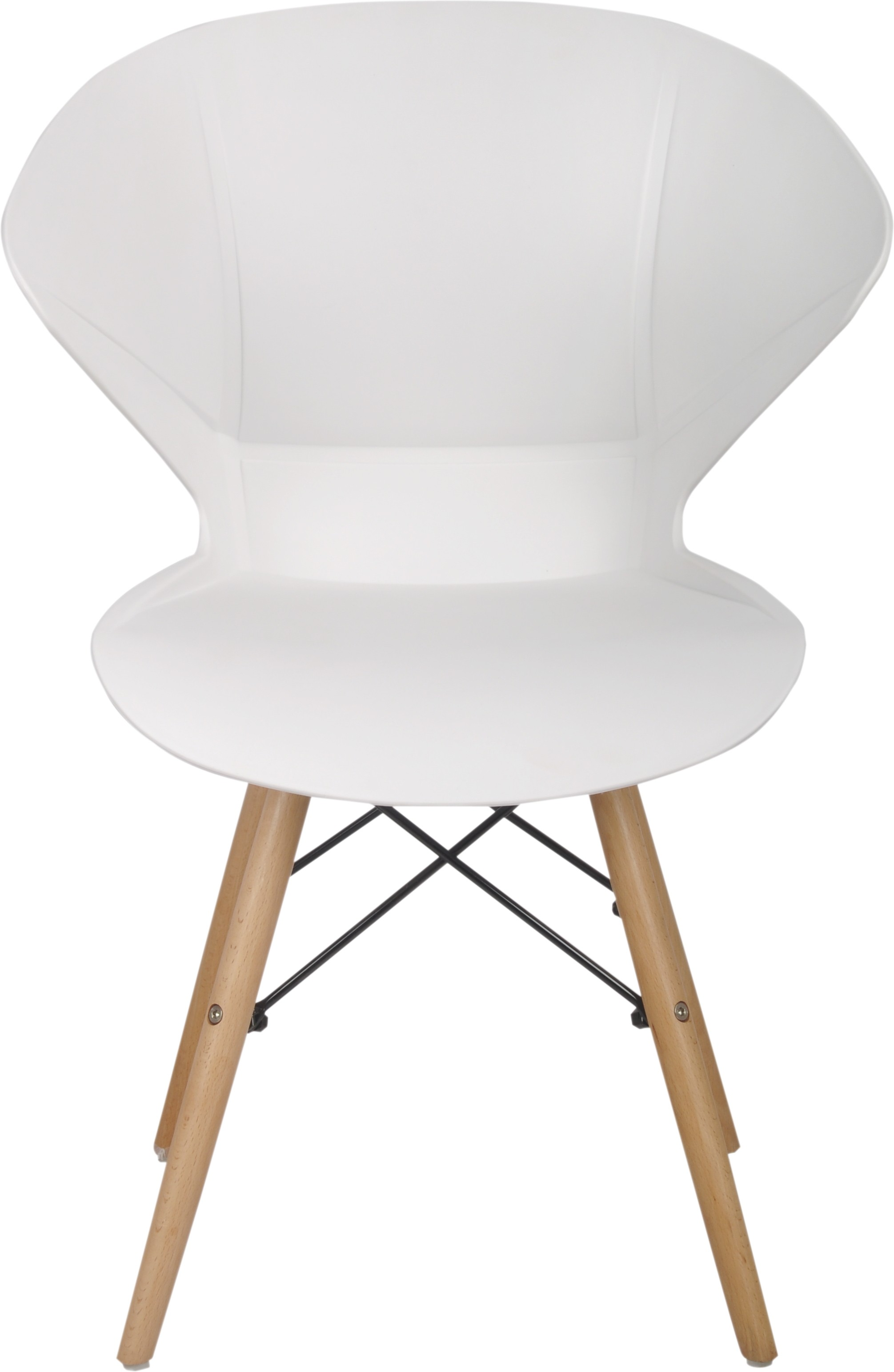 View Bharat Furniture Frog Plastic Living Room Chair(Finish Color - White) Furniture (Bharat Furniture)