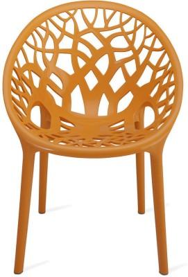 Nilkamal Crystal Plastic Living Room Chair(Finish Color - NA)