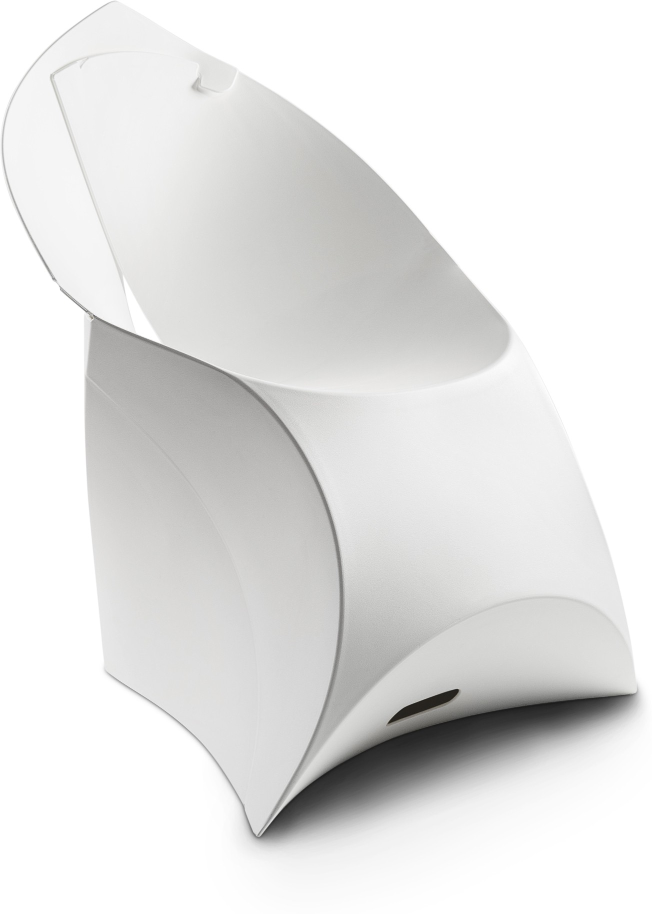 View Flux Plastic Living Room Chair(Finish Color - Pure White) Furniture (Flux)