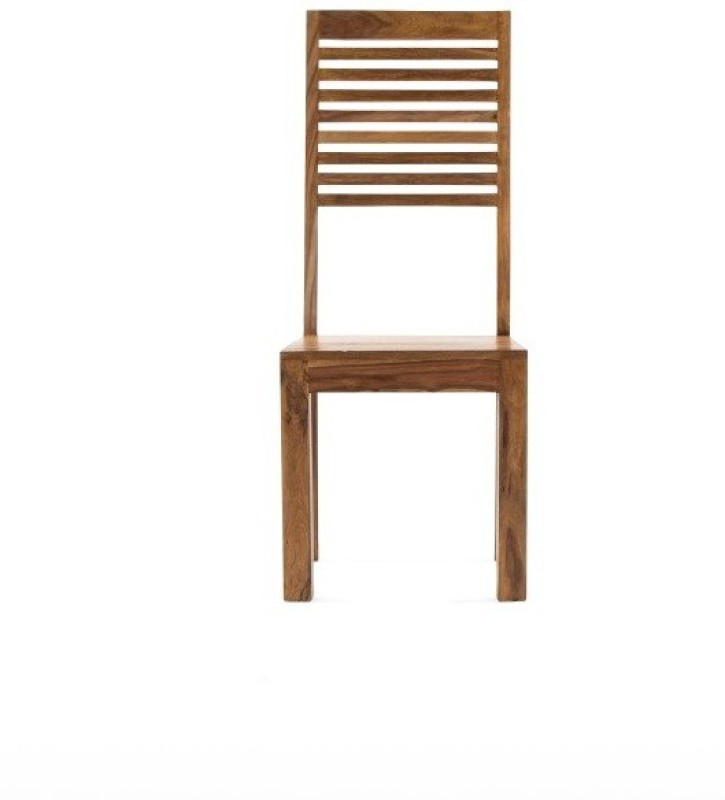 Jivan Solid Wood Dining Chair(Set of 1, Finish Color - Walnut Brown)