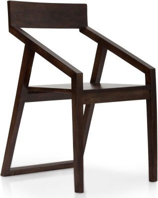 TheArmChair Dulwich Dining Chair Solid Wood Living Room Chair(Finish Color - Walnut)
