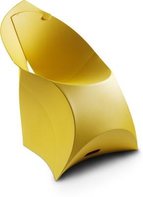 Flux Plastic Living Room Chair(Finish Color - Lemon Lime)