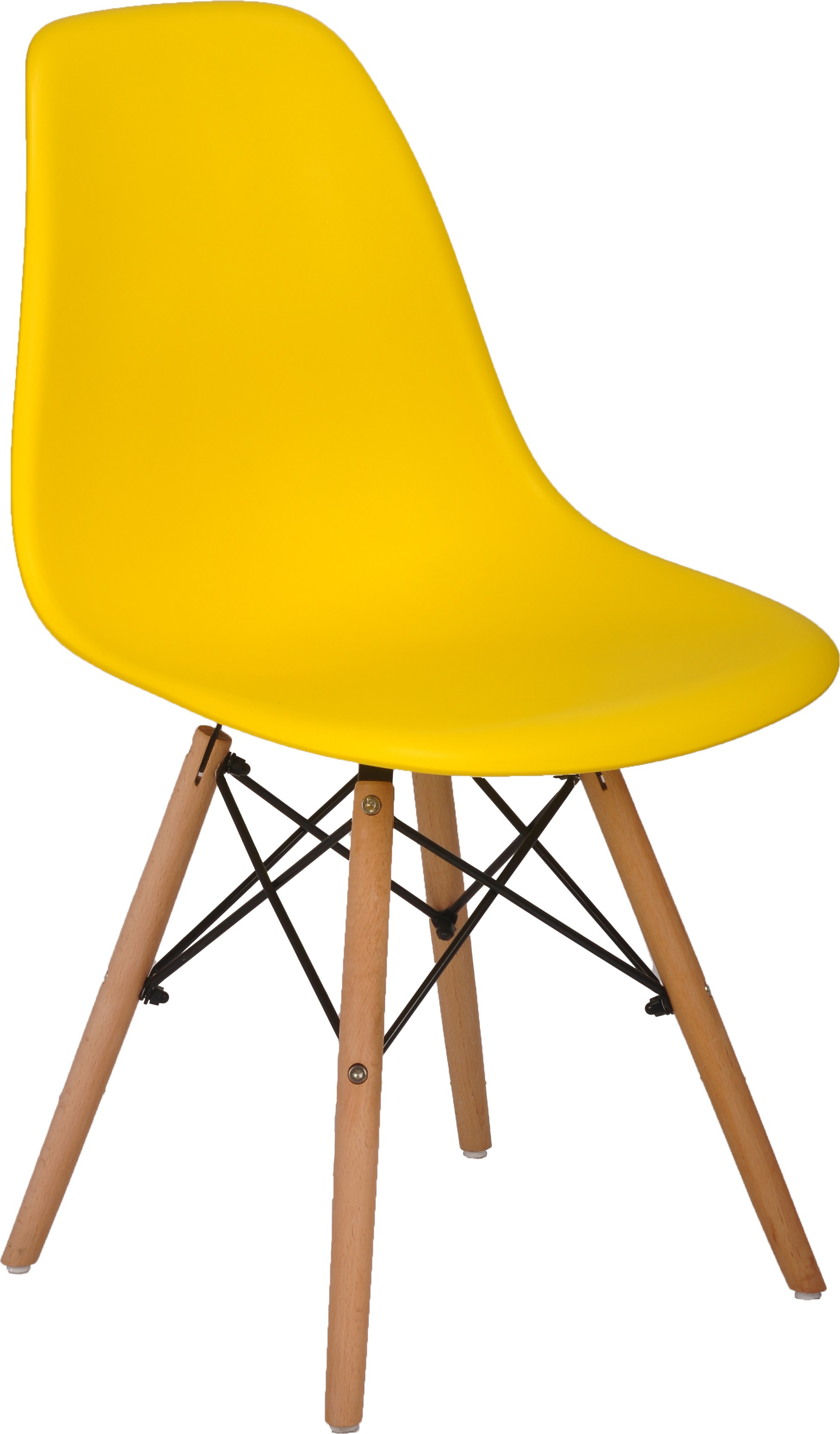 View Bharat Furniture Cloud Plastic Living Room Chair(Finish Color - Yellow) Furniture (Bharat Furniture)