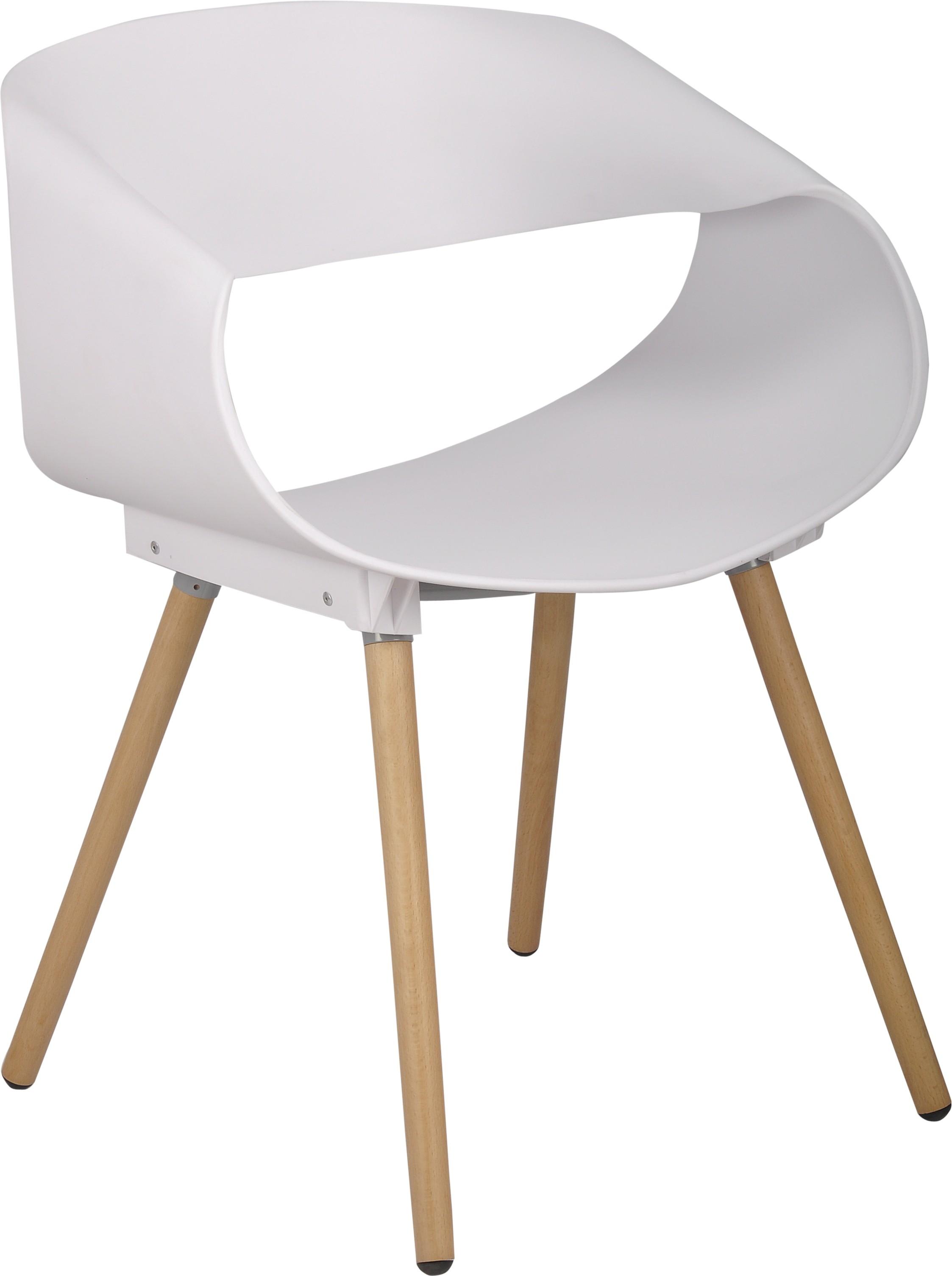 View Bharat Furniture Bella Plastic Living Room Chair(Finish Color - White) Furniture (Bharat Furniture)