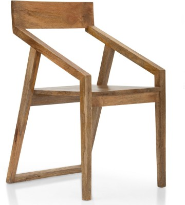 TheArmchair Dulwich Dining Chair Solid Wood Living Room Chair(Finish Color - Natural)