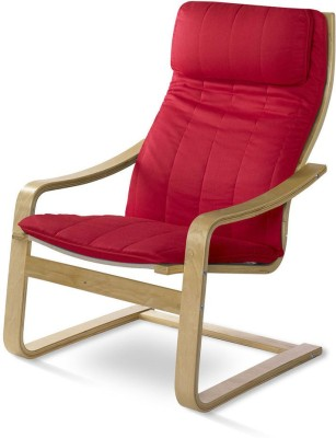 @home by Nilkamal Occasional Solid Wood Living Room Chair