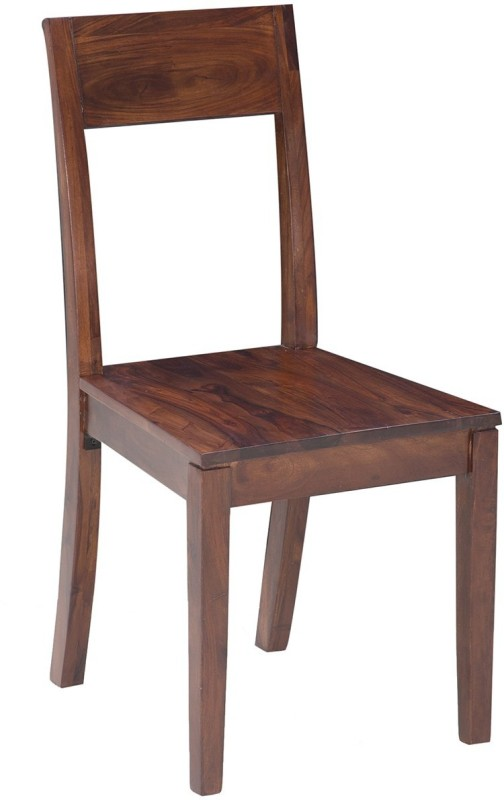 Jivan Solid Wood Dining Chair(Set of 2, Finish Color - Walnut Brown)