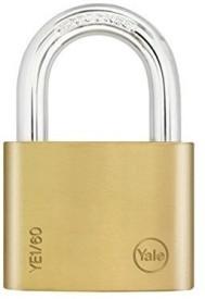 Yale Essential Series Solid Brass 60mm YE1/60/132/1 Padlock