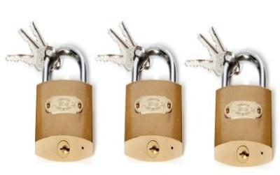 Sgb 50mm Pack Of 3 Lock