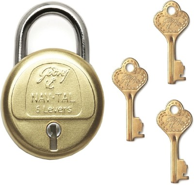 Godrej Navtal 6 Levers - 3 Keys Lock