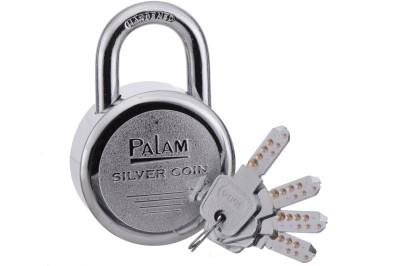 Palam Silver Coin Padlock