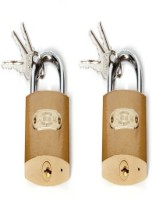 SGB 75mm Pack Of 2 Lock(Gold)