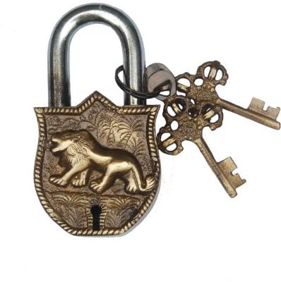 Aakrati Aakrati Handicraft of Lion Figure Padlock