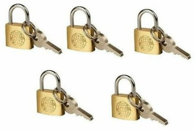 Globe 30 Mm Pack Of 5 Padlock