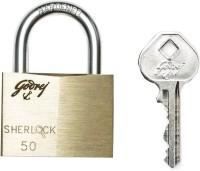 Godrej Sherlock 50 mm -Carton Lock(Gold, Silver)