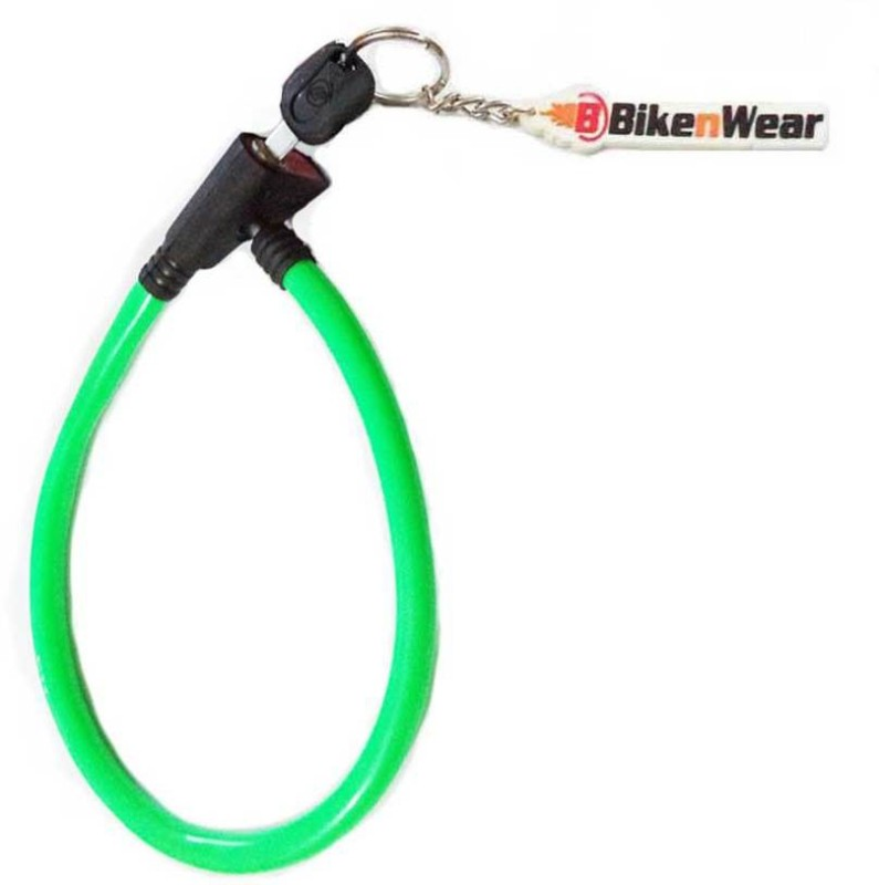 ERCO Heavy Duty Multi-Purpose Green Cable Lock(Green)