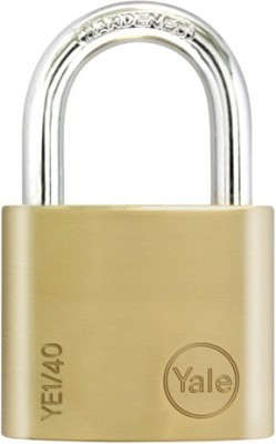 Yale Essential Series Solid Brass 40mm YE1/40/122/1 Padlock