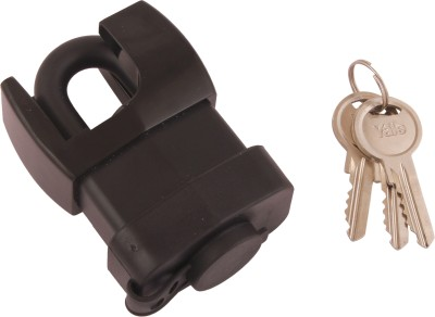 Yale Classic Series Laminated Steel Zinc 52mm Y221/52/125/1/B Hardened Boron Shackle Padlock