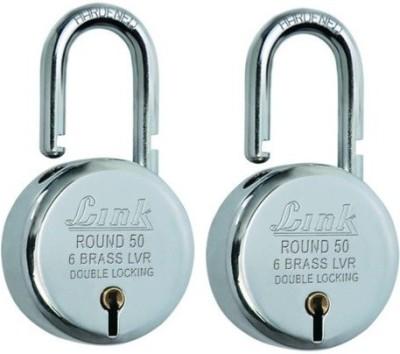 Link Round Bcp 50 (Pack of 2) Padlock